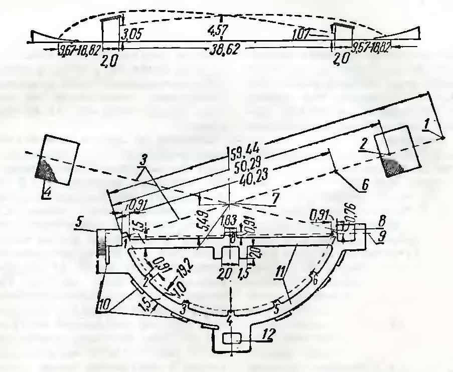 Схема круглого стенда: