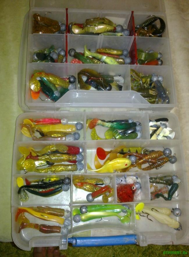 Силиконовые рыбки для ловли судака и щуки