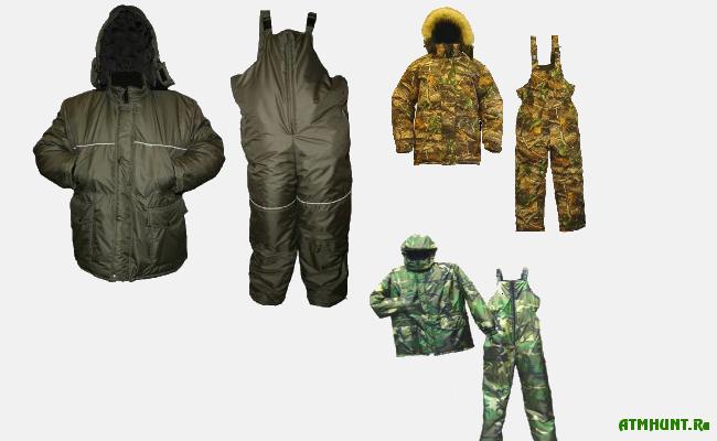 В выборе одежды для зимней рыбалки и