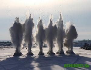 Na primorskih rekah nachinajut vzryvat' led