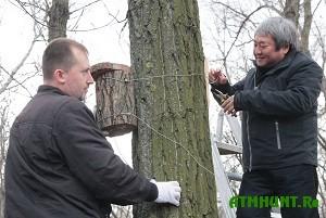 Dlja zaporozhskih ptic ustanovili 150 novyh gnezd