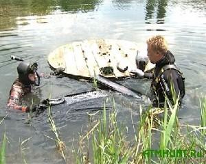 V Ukraine podvodnye ohotniki pytajutsja spasti vodoemy