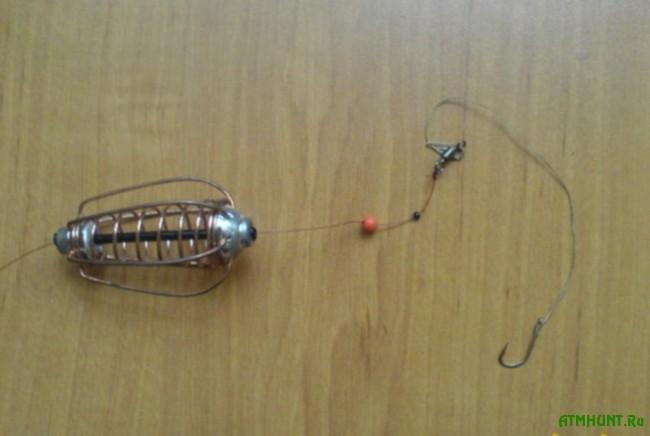 как сделать снасть для ловли осетра
