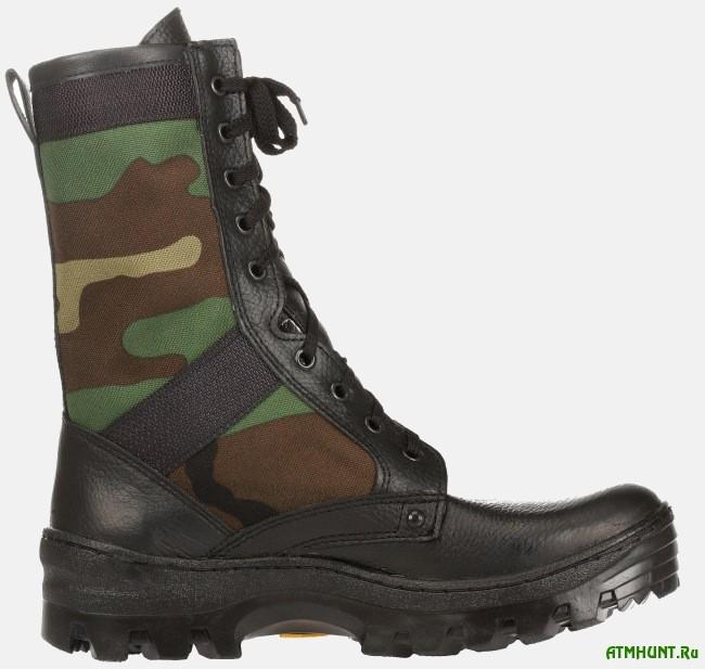 Практичная обувь для охотника