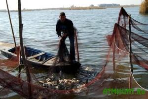 Brakon'er vylovil iz Azovskogo morja 19 kilogramm ryby