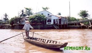 V'etnam. Dolina reki Mekong