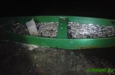 Na Har'kovshhine brakon'er nalovil 357 kilogrammov mal'kov