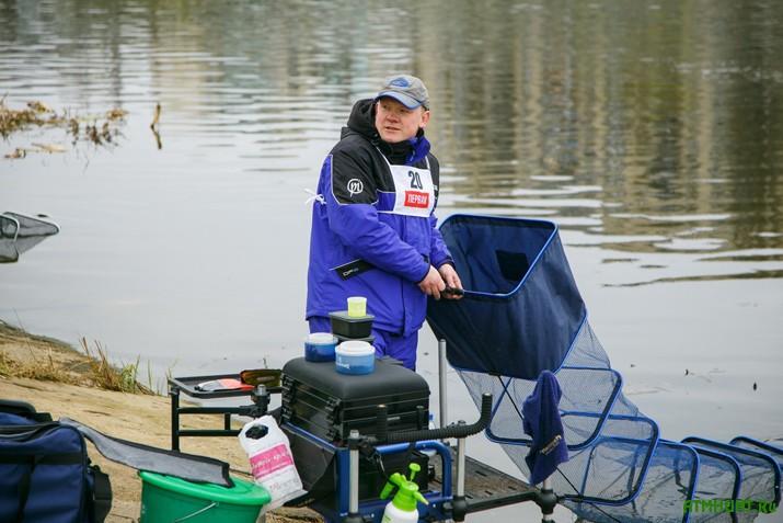 В Киеве прошли соревнования по спортивной рыбалке