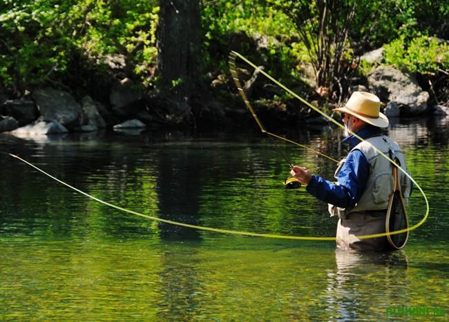 рыбалка в нахлест и снасти