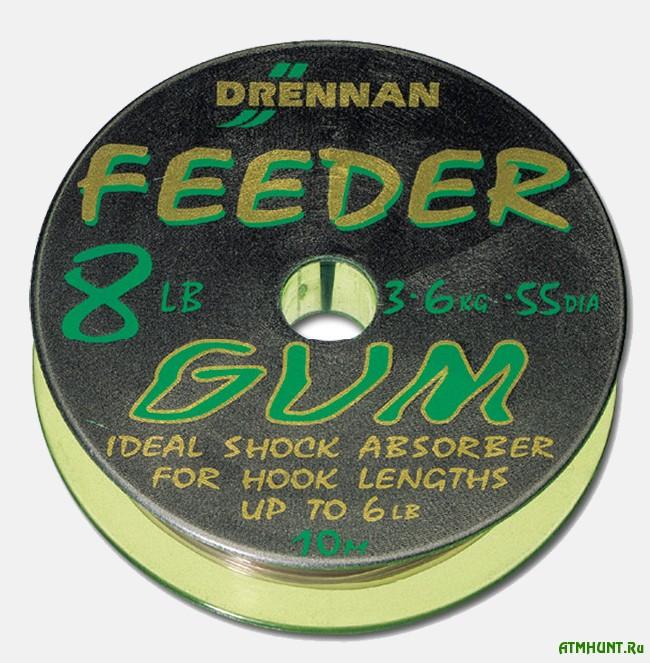 Оснастка фидера с использованием фидергам (Feeder Gum, Power Gum)