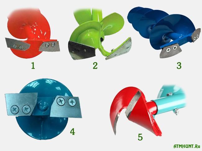 Ножи зимних ледобуров