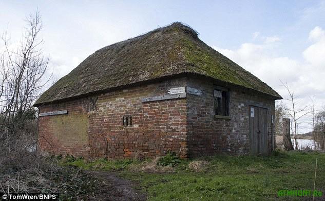 Старинный рыболовный домик в Дорсете