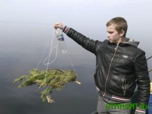 Na Kievskom vodohranilishhe ustanovili 2,5 tys. nerestovyh gnezd