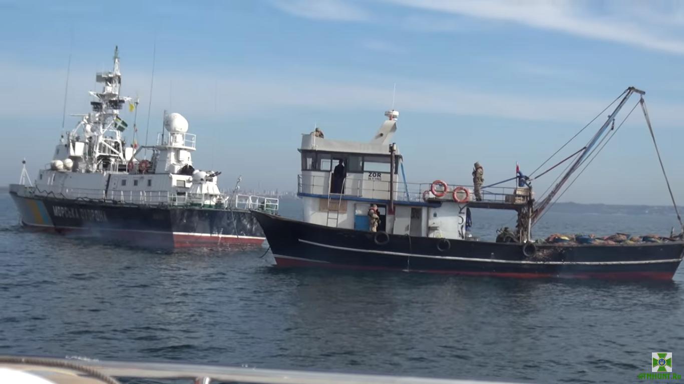 Ukraina otsudila u turkov-brakon'erom ryboloveckuju shhunu stoimost'ju 100 tys. grn.